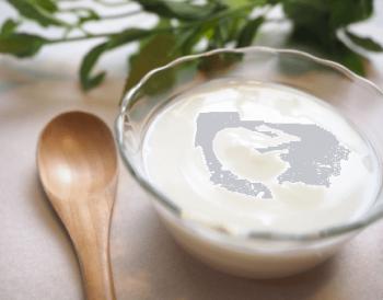 ラクトフェリンとい最初に出る母乳の中にあるタンパク質の成分と同じものが入っているヨーグルト