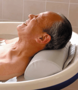 高齢者に多い入浴後低血圧