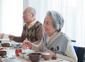 高齢者に多い食後低血圧
