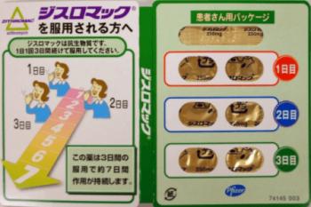副鼻腔炎の市販薬のおすすめは抗生物質ジスロマック