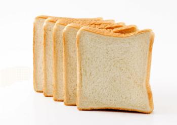 5枚にカットしてある食パン