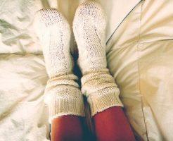 水虫は寝る時に靴下を履いても良い?